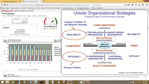 Unicist Strategy Monitor - Organizational Strategies